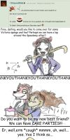 AMC: 13foxywolf666 asks... by Groovy-Gecko