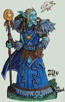 Troll druid Zuu by rusel1989