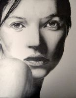 Kate Moss WIP 3 by Anthony-Woods