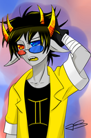 Sollux Captor + VIDEO - Speed Paint by Timeless-Knight