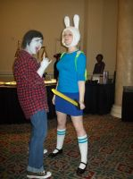 Umicon 2013: Fionna and Marshall-Lee by CronaBaby