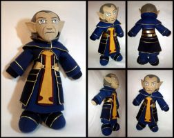 Orsino Plushie--Dragon Age 2 by Threnodi