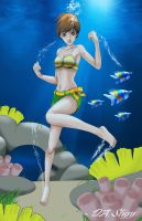 Chie - Under the Sea... by DaStigy