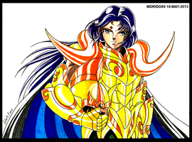 MU DE ARIES-SAINT SEIYA (MARKER-COLOR) by MUERTITO69