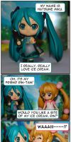 Miku and Rin luv Icecream by Android18a