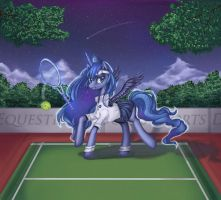 Request- Tennis Luna by shiwizilla