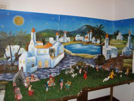 Background of Nativity by Samy-Consu