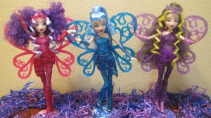Winx Club Trix Dark Sirenix Dolls by Galistar07water