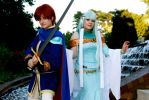 Eliwood and Ninian by august-fehrmont