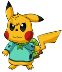 Nick the Pika-Bulba-Thing by Fishlover