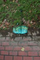 Umbrella and leaf by Sweetybee