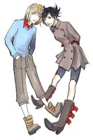 two posy idiots - imrys neria by Verric