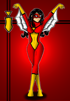 Spider Woman by Flash-of-Lingt