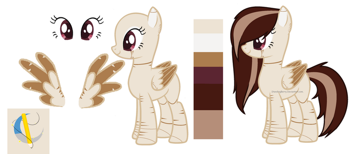 Reference OC pony by StandingBerry