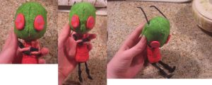 finished zim doll by sleeping-kitty