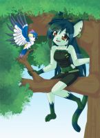 Climbing Trees by luna777