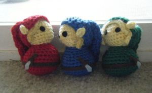 Young Link Legend of Zelda Amigurumi Dolls by ChibiSayuriEtsy