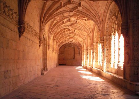 Jeronimos clausters hall by coolbits1