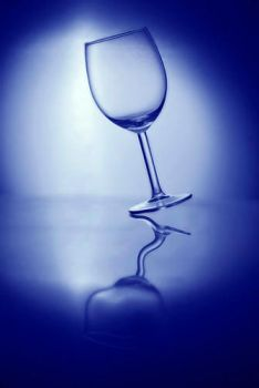 wine glass by bartekwhitecoast