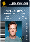 Aaron's ID Badge by Obsess-Confess