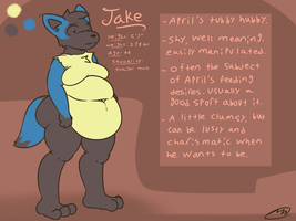 Jake Redesign 2016 by Axlwisp