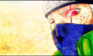 Looking Back- Kakashi Hatake by Randazzle100