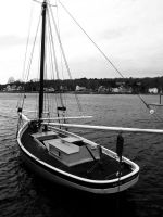 Classic Catboat by davincipoppalag