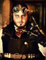 Steampunk Mad Scientist by cammykillerbee