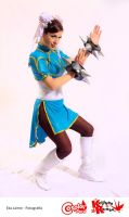 Battle stance ChunLi by DarkTifaStrife