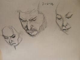 sketch of people on the train 2 by jaiquanfayson