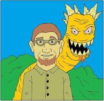 Monster and Me by backerman