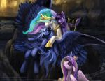 Lament for Luna by slifertheskydragon