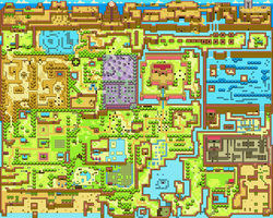 Link's Awakening SDX : Koholint Island by mike1967-now
