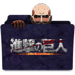 Attack On Titan Icon Folder by TheKevinMevlana