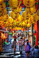 Mid-Autumn Fes in China town by TOMOHDR