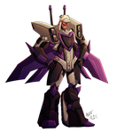 Blitzwing Hothead by UndeadKitty13