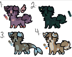 Puppy Adoptables 2 by coraIreef