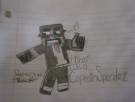 Captain Sparklez by Zazurii