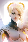 Overwatch: Mercy by Zolaida