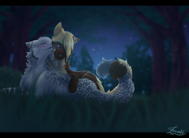 Kiss Under the Stars by Emerald-Eyes67