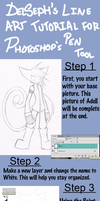 Line Art Tutorial by DelSeph