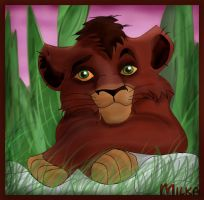 TLK II: Kovu at Dusk by freckledmystery