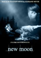 fake new moon poster by YunakiDraw