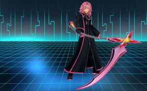 Tron Marluxia wallpaper by RoxasTsuna