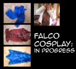Falco cosplay- in progress by Noe-Izumi
