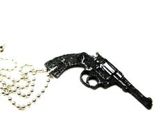 pistol necklace 2 by bleedsopretty
