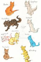 Warriors Cats-ThunderClan by Toadiko25
