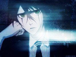 Ulquiorra -our WORLD- by bloodbutterfly10