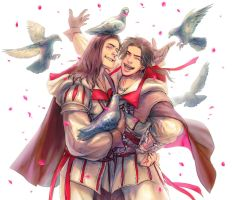 Giovanni and Ezio by mono0