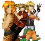 Commission: Ryoga's Boys, Part IV by R-Legend